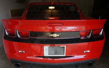 2010 Chevy Camaro Rear Complete Blackout Kit