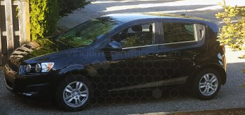 2012 to Present Chevy Sonic Lower Scallop Stripes