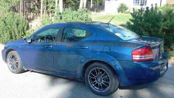 2008 Dodge Avenger Front Bodyline Stripes