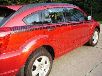 2007 to 2012 Dodge Caliber Upper Body Side (Cuda) Stripes