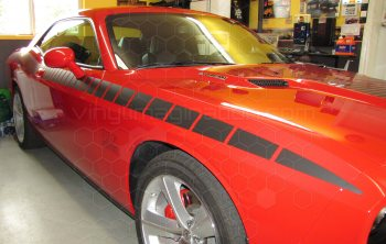 2008 to 2014 Dodge Challenger Full Length AAR Stripes