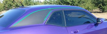 2008 to 2014 Dodge Challenger C-Pillar Accent Stripes