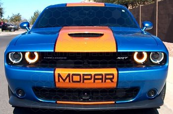 2008 to 2014 Dodge Challenger Front Bumper Text