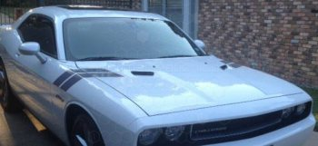 2008 to 2014 Dodge Challenger Hood to Fender Hash Stripes