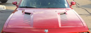 2008 to 2014 Dodge Challenger Hood Intake Accent Stripes