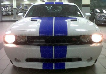 2008 to 2014 Dodge Challenger Rally Racing Dual Stripes Kit