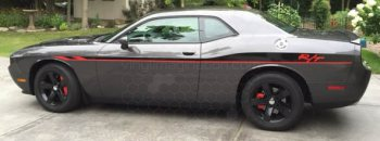 2008 to 2014 Dodge Challenger Redline Side Stripes OEM Style