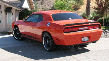 2008 to 2014 Dodge Challenger Rocker Panel Stripes