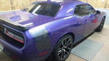 2008 to 2014 Dodge Challenger Rear Quarter Stinger Hockey Stripes