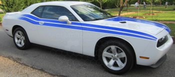 2008 to 2014 Dodge Challenger RT Classic Retro Stripes