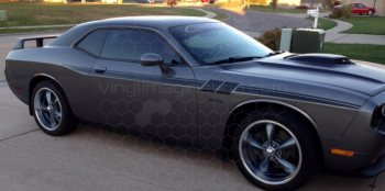2008 to 2014 Dodge Challenger Side Accent Hash Stripes
