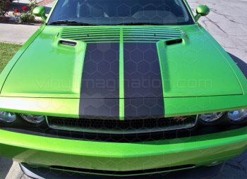 2008 to 2014 Dodge Challenger T-Hood Decal