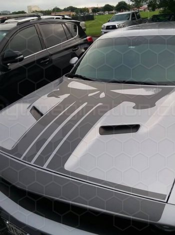 2015 Dodge Challenger Hammerhead Hood Decal