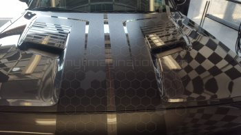 2015 to Present Dodge Challenger Main Hood Decal