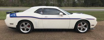 2015 Dodge Challenger MOPAR 14 Style Side and Trunk Stripes