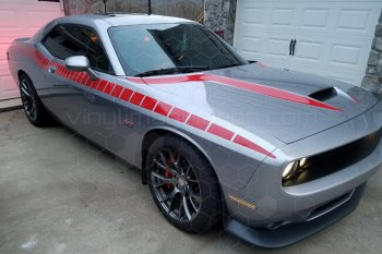 2015 Dodge Challenger Hellcat/392 Power Bulge Spears