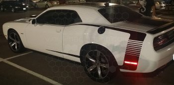 2015 to Present Dodge Challenger Reverse C Side Pinstripes