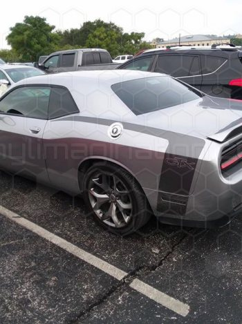 2015 Dodge Challenger Reverse C Side Stripes