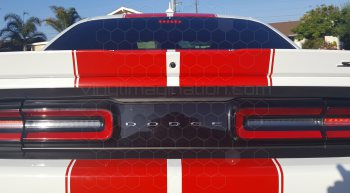 2015 Dodge Challenger Rally Racing Dual Stripes Kit