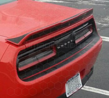 2015 Dodge Challenger Rear Fascia Blackout
