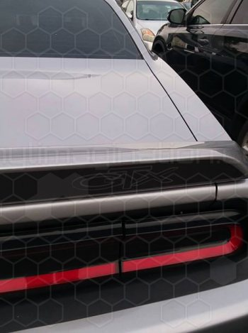 2015 to Present Dodge Challenger Rear Spoiler Blackout Decal