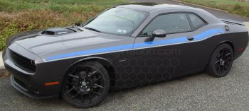 2015 Dodge Challenger '15 RT Classic Stripes
