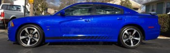 2011 to 2014 Dodge Charger Rocker Panel Stripes