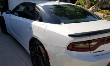 2015 Dodge Charger C to A Pillar Blackout Accent Stripes