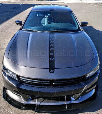 2015 Dodge Charger Hood Center Stripe