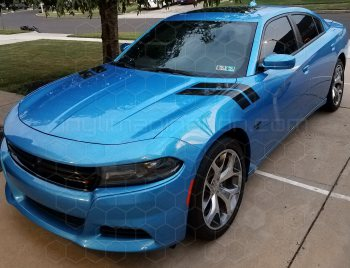 2015 Dodge Charger Hood to Fender Hash Stripes