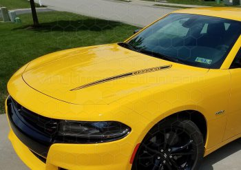 2015 Dodge Charger Hood Spears