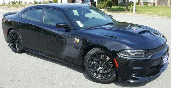 2015 Dodge Charger Outer Scallop Swoosh with Tail