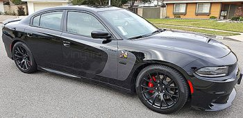 2015 Dodge Charger Outer Scallop Swooshes