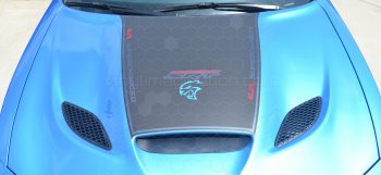 2015 to Present Dodge Charger SRT Hellcat / SRT 392 / R/T Scat Pack Power Bulge Hood Decal