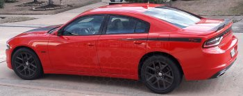 2015 to Present Dodge Charger Rear Quarter Daytona Spikes