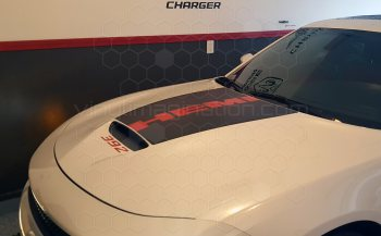 2015 Dodge Charger Daytona / Daytona 392 Power Bulge Hood Decal