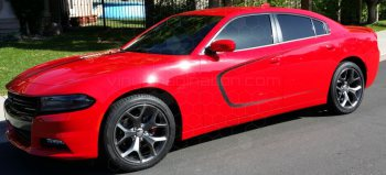 2015 Dodge Charger Side Scallop Accent Stripes