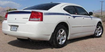 2006 Dodge Charger Rear Quarter Stinger Stripes