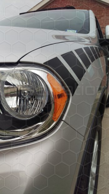 2011 Dodge Durango Headlamp Trail Stripes