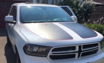 2011 Dodge Durango Main Hood Decals
