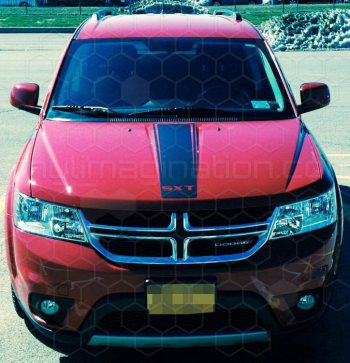 2009 to Present Dodge Journey Hood Center Stripe