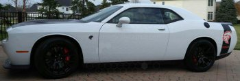 2005 Dodge Magnum Retro AAR Cuda Style Upper Side Stripes
