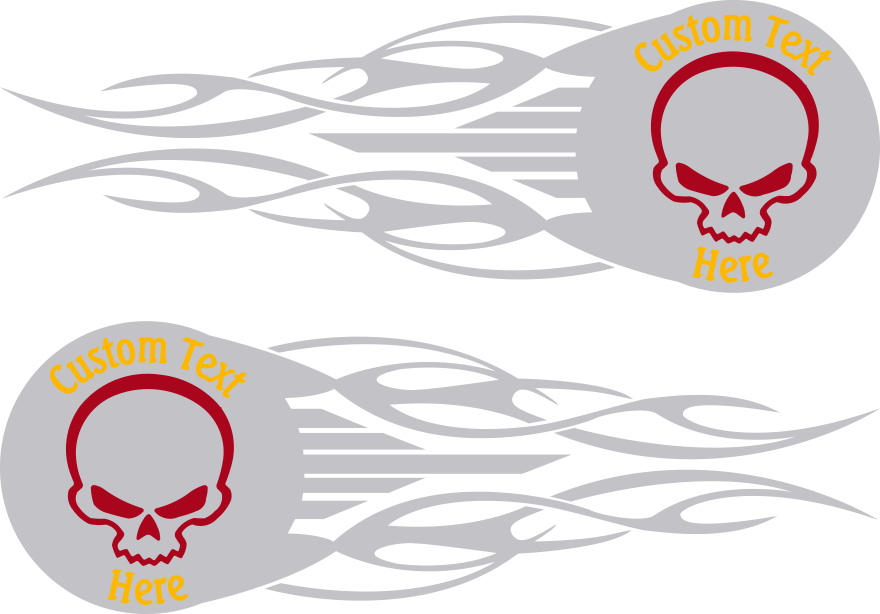 Graphics For Skulls Custom Motorcycle Gas Tank Graphics Www - Decal graphics for motorcyclesmotorcycle gas tank customizable stripes graphics decal kits