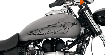 Image of Flaming Eagle FE4 Motorcycle Graphics