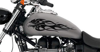 Image of Flaming Eagle FE5 Motorcycle Graphics