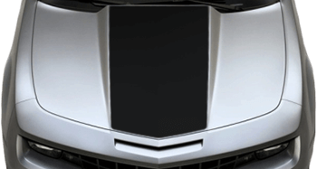 Center Hood / Cowl Decal on the 2010 to 2013 Chevy Camaro