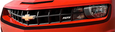 2010-2013 Camaro Front Fascia Accent Stripe on vehicle image.