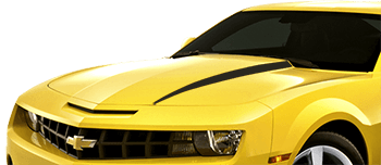 Hood Cowl Spears on the 2010 to 2013 Chevy Camaro