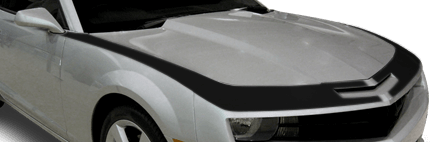 View 2010 to 2013 Chevy Camaro with and without Upper Fascia & Fender Stripes Graphics installed.