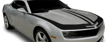 Upper Fascia, Hood & Fender Stripes on the 2010 to 2013 Chevy Camaro